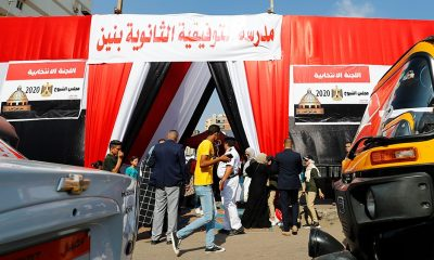 Egyptians vote for revived upper house of Parliament