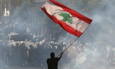 In Pictures: Thousands take part in Lebanon's anti-gov't protests