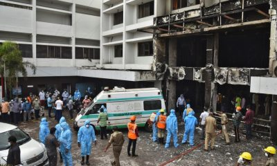 Deadly fire at coronavirus facility in south India