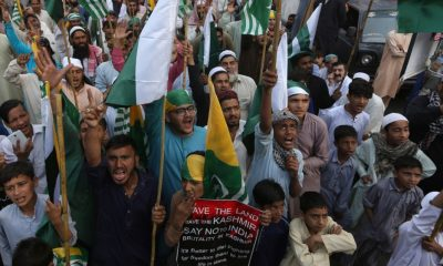Dozens wounded in grenade attack at pro-Kashmir Karachi rally