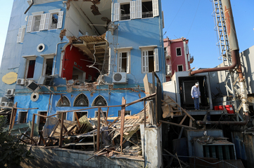 Hundreds of thousands left homeless by Beirut explosion