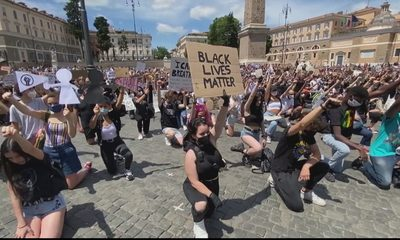 Anti-racism protests held across Europe