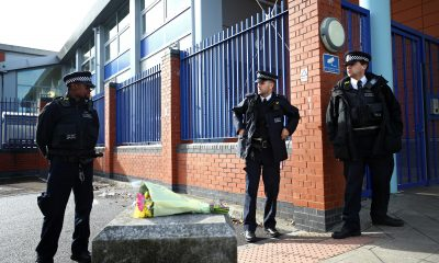 UK police officer shot dead by man detained in custody centre