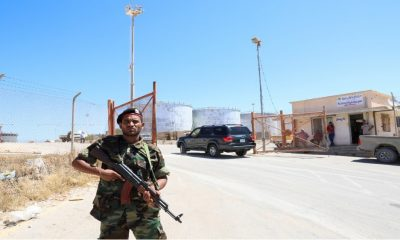 Libya's NOC lifts force majeure on oil in ports without fighters