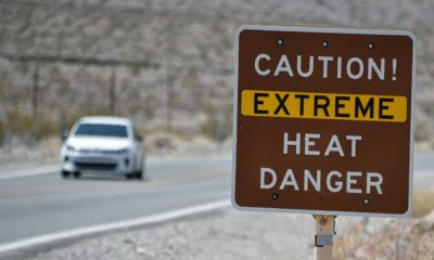 'Insanely hot': Death Valley records world temperature record